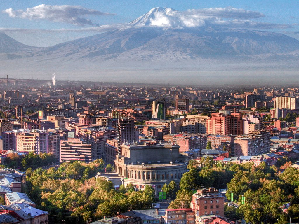 capital city of armenia yerevan