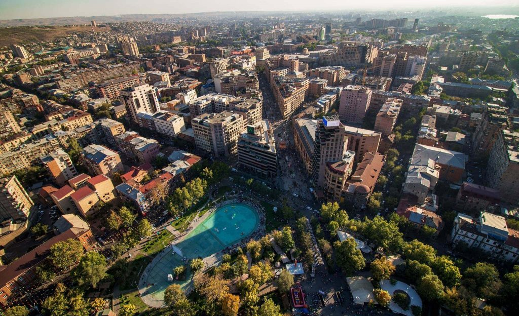 armenia capital city yerevan