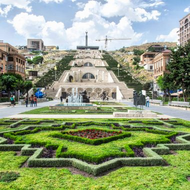 cascade yerevan armenia